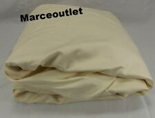 Ralph Lauren 624 Thread Count Cotton Sateen KING Fitted Sheet Hollywood Cream