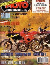 MOTO JOURNAL 1016 BMW R100 GS YAMAHA TDM 850 CAGIVA 900 IE HONDA NSR 500 1991