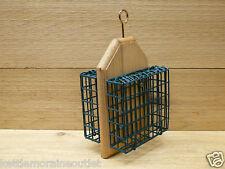 Kettle Moraine Double Hanging Suet Cage Wild Bird Woodpecker Feeder