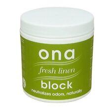ONA BLOCK Fresh Linen 6 oz ounce - odor air neautralizer control polar pro scent