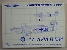 Aero 1/72  Avia B 534  Bi-Plane New 7207