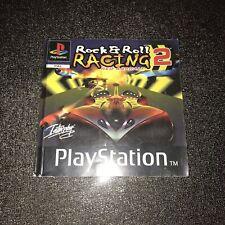 Notice (seule) Rock N' Roll Racing 2 - PS1 Sony Version FR