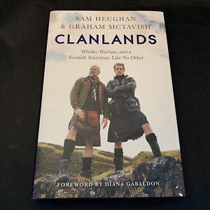 Clanlands - Diana Gabaldon Sam Heughan McTavish - Signed Hardback HB Edition NEW