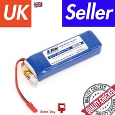 E-flite 1000mAh 3S 11.1V 20C LiPo Battery with JST Connector for Blade SR Heli -