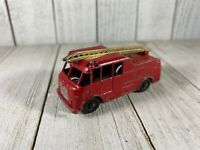 VINTAGE Matchbox Lesney Merryweather Marquis 3 Fire Engine No. 9 black wheels