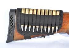 Rifle Cartridge Ammo Buttstock Holder Ammo 10 Bullets Shotgun Shell 7.62 GA New