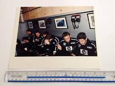 Nick Heidfeld during team meeting