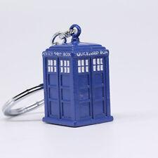 New Doctor Who TARDIS Police Box Keyring Keychain
