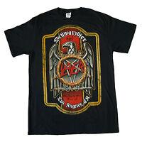 SLAYER - Bier Label - T SHIRT S-M-L-XL-2XL Brand New - Official T Shirt