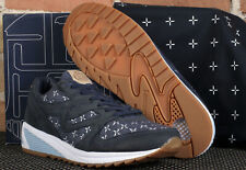 Saucony Grid 8000 CL Sashiko Up There Grid Marine Navy Blue Running Shoes - 10.5