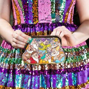 Irregular Choice Disney Princess Snow White Dwarfs Fairest in the Land Purse NEW