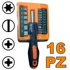 Set Cacciavite 16 Punte Assortite Tools Di Precisione Taglio Stella Intaglio dfh