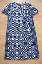 BODEN blue pattern cotton  tunic dress size 6