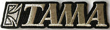 TAMA Drums Iron on Patch, Rock, Musicians, Music, Bands,
