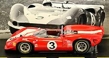 Lola T70 MK II Spyder John Surtees #3 Can-Am Champion du monde 1966 rouge rouge