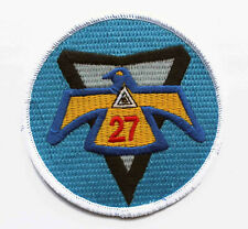 Air Force Military Academy Cadet 27th Squadron Thunderbird Patch
