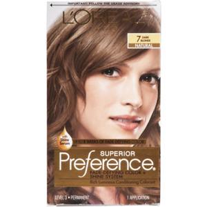 L'Oreal Paris 7 Dark Blonde Natural Superior Preference Hair Coloring