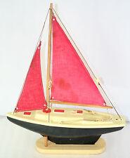Giraud Sauveur -- Bateau voilier de bassin F27 30 cm 1ère série