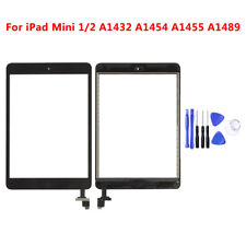 For IPad Mini 1/2 Digitizer Touch Screen with IC Chip Home Button Adhesive