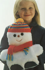 SEWING PATTERN Jean Greenhowe Cosy Snowman Toy Hand Muff Christmas 35cm RARE
