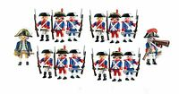 Playmobil  6435 SOLDIERS army  ENGLISH  FRENCH    6436 OFFICER NEW  14 FIGURES
