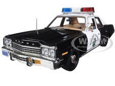 """1975 DODGE MONACO POLICE PURSUIT CHP """"CHiPS"""" LTD 1002PC 1/18 AUTOWORLD AWSS112"""