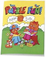 6 Puzzle Fun! Activity Books - A6 - Loot/Party Bag Fillers Wedding/Kids