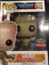 "Marvel Guardians Galaxy Vol 2 Funko Pop Groot Target Ex Life Size 10""#202 New"