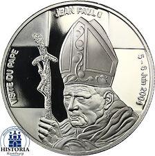Kongo 5 Francs 2004 PP Gedenkmünze Papst Johannes Paul II