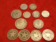 More details for coins silver job lot 0.90 south american inc low mintage, brazil,panama,paraguay