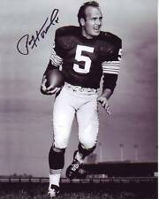 PAUL HORNUNG Signed NFL GREEN BAY PACKERS Photo w/ Hologram COA NOTRE DAME