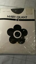 Original Vintage Mary Quant Fancy Tights Navy Blue