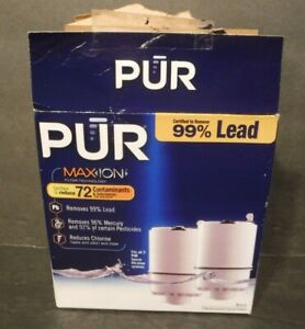 2 Pack PUR MAXION Basic Faucet Replacement Filters RF-3375 Open Box/package