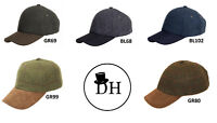 Denton Hats Tweed Baseball Caps One Size All Colours Traditional 100% Wool