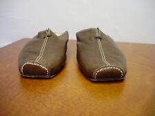 Attilio Giusti Leomeruni Italy Brown Leather Slip On Moccasins Size 37 / 7