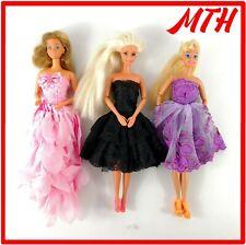 Barbie Bundle / Job Lot of 3 Pretty Dressed Vintage 70's Dolls LOVELY CONDITION