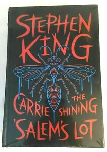 Stephen King Novels The Shining Carrie Salem's Lot Leather Bound NEW SEALED