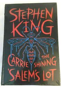 Stephen King Romans The Shining Carrie Salem's Lot Cuir Lisérés Neuf Scellé