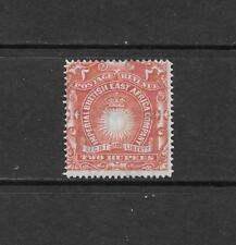 1890 Queen Victoria SG16 2 rupees Brick Red  Mint Hinged BRITISH EAST AFRICA