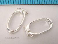 1x STERLING SILVER BRIGHT SHORTENER ENHANCER CLASP N939