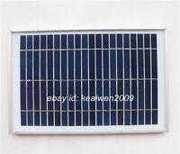 9v 550ma 5w solar panel solar glate power 6v lighting system charge 6v battery