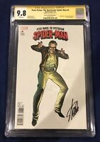 Peter Parker: The Spectacular Spider-Man #6 Edition C CGC 9.8 Signed by Stan Lee