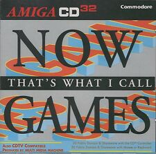 (NEU) 100 GAMES AMIGA CD 32 CDTV NOW THAT'S WHAT I CALL MONOPOLY CHESS SCHACH