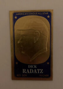 1965 Topps Embossed # 48 Dick Radatz Boston Red Sox Baseball Card
