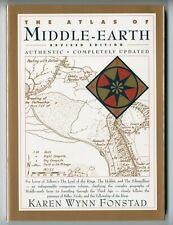 ★ THE ATLAS OF MIDDLE-EARTH - KAREN WYNN FONSTAD ★ V.O ANGLAIS ★ REVISED EDITION