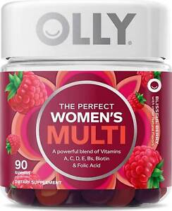 The Perfect Women's Multi Gummies by OLLY, 90 count