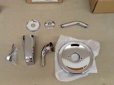 Danze D510011T Melrose Single Handle Tub and Shower Faucet Trim Kit, Chrome