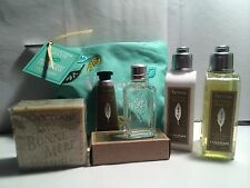 L'Occitane 6 piece Summer Zest Verveine Collection including Make-up Bag
