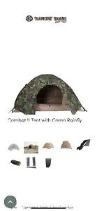 Complete Combat USMC Tent 2 Man Tent Shelter Khaki Tan Camping