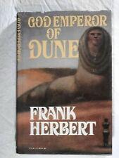 God Emperor of Dune by Frank Herbert - sf - science fiction - hardback